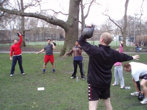 Kettlebell Training Personal Training Muswell Hill Hampstead Highgate